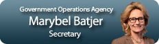 Marybel Batjer, Government Operations Agency, Secretary